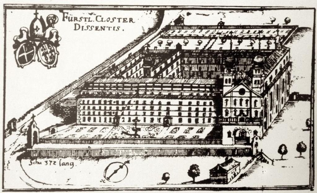 Kloster_Dissentis1698